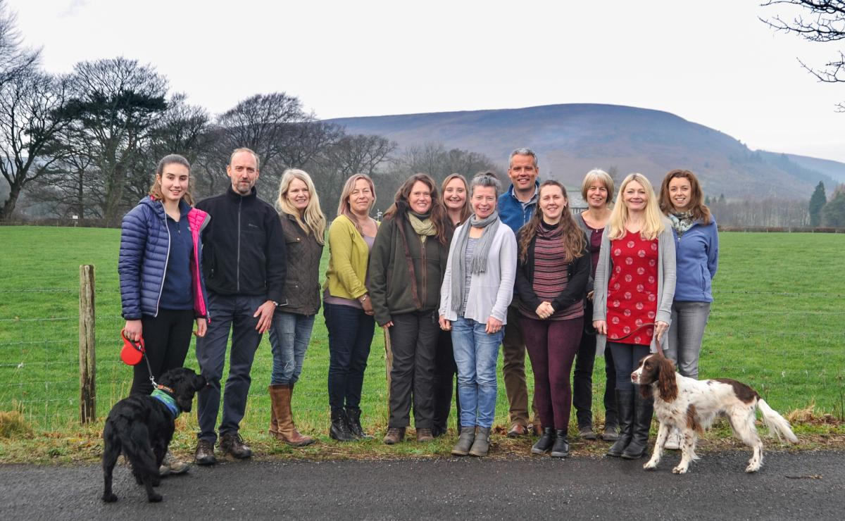 AONB Team & Pendle Hill Project Team - December 2018