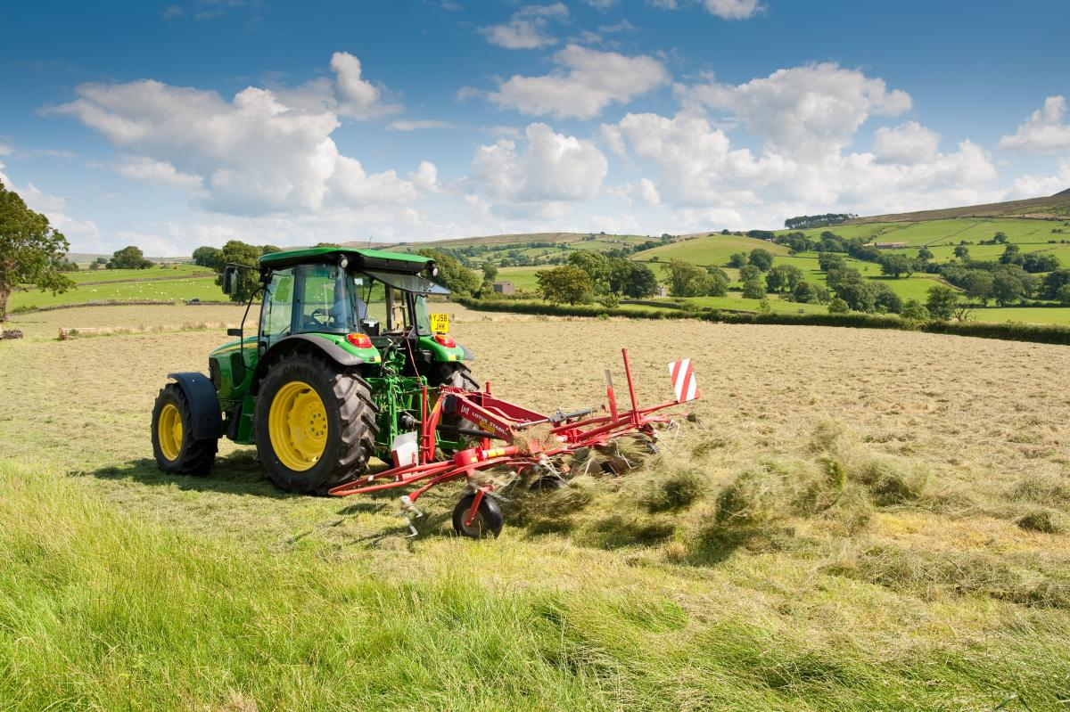 Haymaking in Twiston by Graham Cooper