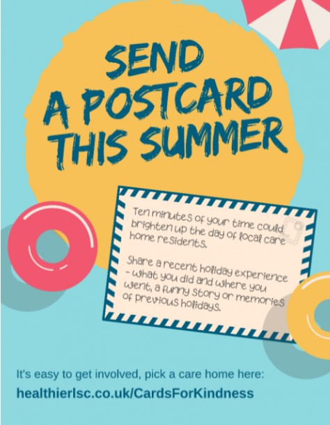 Postcards for Kindness (Healthier Lancashire and South Cumbria)