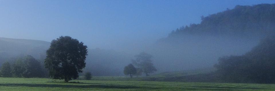 Morning mist Whitewell