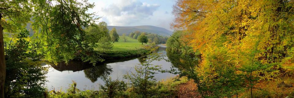 River Hodder at Whitewell (C Burscough)