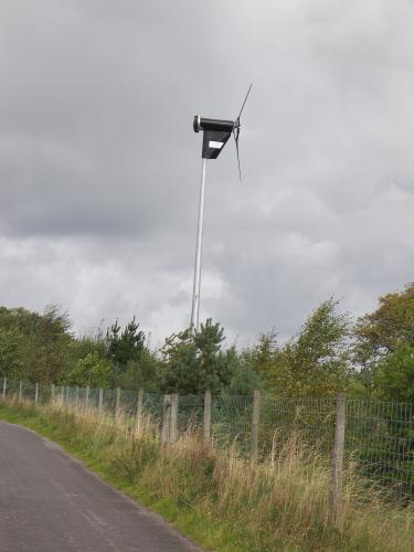 wind turbine Wild Boar Park - sdf supported project