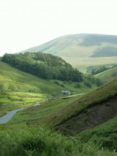 Shale exposure in the Trough of Bowland - image copyright Jon Hickling