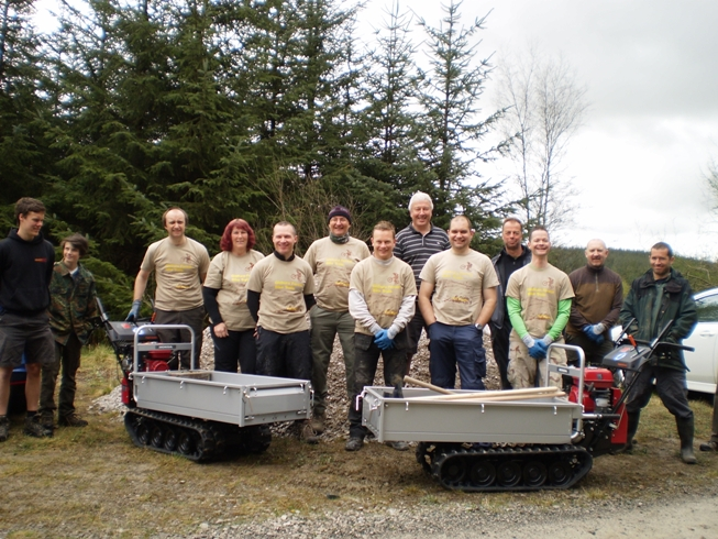 Gisburn Forest Trail Builders